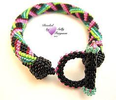 Peyote with a Twist- not bead crochet