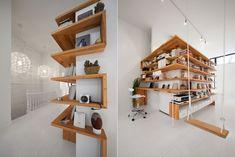 Réaménagement du troisième étage et des combles d'un ancien duplex du Plateau Mont-Royal à Montréal. – L. McComber ltée – architecture vivante