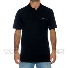 This type of shirt with black pants.