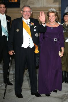 King & Queen of Greece in Luxembourg