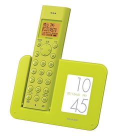 Sharp introduces two new cordless phones with photo frame docks