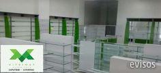 VITRINAS GONDOLAS DROGUERIA MOBILIARIO Somos fabricantes de mobiliario para Farmacia, Tiendas Nat .. http://bogota-city.evisos.com.co/vitrinas-farmacia-mobiliario-id-483288