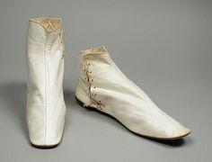 Pair of Woman's Ankle Boots. United States, circa 1850. Wm. Ryan & Co., Philadelphia, Pennsylvania | LACMA Collections