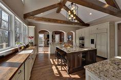 great windows & layout (via echelon custom homes)