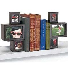 Cool Photo cube bookends