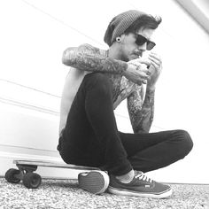 Making smoking look cool since 1989  #Tattoo #skateboard