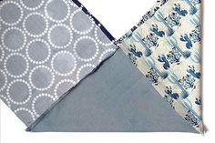 How to sew a bento bag step 4