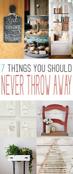7 Things You Should NEVER Throw Away - The Cottage Market upcycled crafts