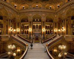 paris opera stairs