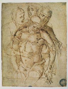 'Mantegna and Bellini' at National Gallery, London, 1 October 2018 – 27 January 2019 - Alain. Andrea Mantegna, La Pieta, Agony In The Garden, Italian Renaissance Art, Giovanni Bellini, Bristol Museum, Arte Sketchbook, Italian Painters, Madonna And Child