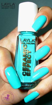 Ninja Polish: Layla - CE-42 Miami Green, from the Ceramic Effect collection