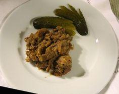 Pečená kuracia pečeň • recept • bonvivani.sk Beef, Food, Meat, Essen, Meals, Yemek, Eten, Steak