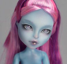 OOAK Monster High Kiyomi Haunterly Madam Bu repaint