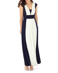 Phase Eight Palma Color Block Maxi Dress
