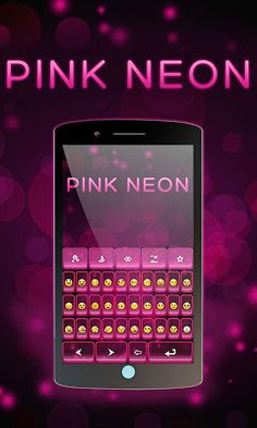 Pink Neon theme Free Android, Blackberry, Apps, Neon, Pink, Blackberries, Rose, Hot Pink, App