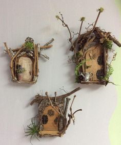 Fairy Door Opening Fairy Door Each One of a Kind