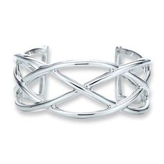 Tiffany & Co Outlet Knots Cuff Bangle larger image Tiffany Jewelry Outlet, Tiffany And Co Outlet, Tiffany Bangle, Tiffany And Co Bracelet, Tiffany Und Co Armband, Tiffany Blue Box, Cute Work Outfits, Summer Outfits, Fashion And Beauty Tips
