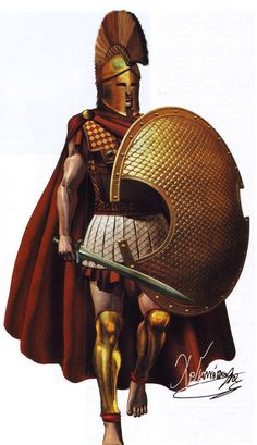 Hoplite from Plataea, 500 BC
