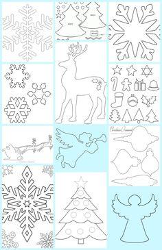 A Pritt Kreatív Klubbanhétről hétre gyermekekkel is könnyen megvalósítható ötleteket találtok. Rovatunk igazodv... Christmas Paper, 1st Christmas, Christmas Colors, Homemade Christmas Decorations, Diy Christmas Ornaments, Christmas Templates, Christmas Printables, Cardboard Crafts, Paper Crafts