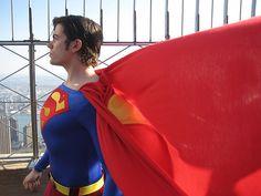 Fantastic Superman Cosplay