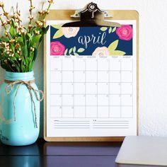 Calendário 2018 grátis para baixar, imprimir e se organizar