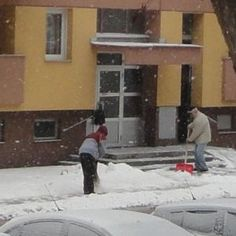 Snježne padavine u mom Naselju Retfala u Osijeku (5)
