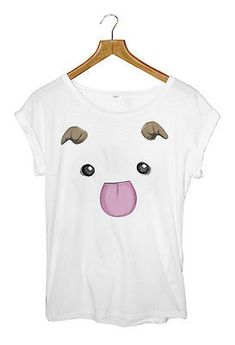 3131b2bc Details about LEAGUE OF LEGENDS PORO Women's T-shirt WHITE Small to Large  Available
