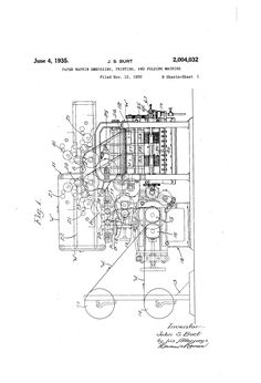 Some old patent drawing