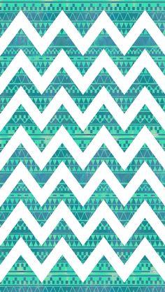 Tribal chevron pattern via CocoPapa
