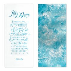 Graduation Invitations by Jill De Haan, via Behance