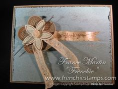 Triple Treat Flower by France Martin - Cards and Paper Crafts at Splitcoaststampers