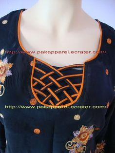 Neckline Design Chudidhar Designs, Churidhar Neck Designs, Salwar Neck Designs, Saree Blouse Neck Designs, Kurta Neck Design, Neck Designs For Suits, Neckline Designs, Dress Neck Designs, Kurta Designs