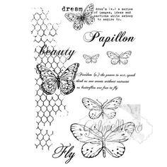 Gabi's Butteflies Are Free Stamp Set GP-4611