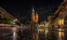 evening mood in Krakow by CARO14