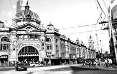 Flinders Street Station. Melbourne,  Australia