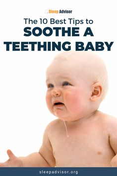 A complete guide to soothe a teething baby. The symptoms, relief tips and remedies for when baby starts teething. We are Sleep Advisor, the sleep expe Unisex Baby Names, Boy Names, Health Blog, Health Tips, Baby Teething Remedies, Baby Teething Chart, Baby Teething Symptoms, Teething Babies, Baby Care Tips