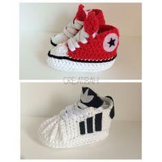 66dead0439750 motif converse bébé crochet - L excale