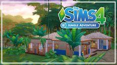 The Sims 4 Jungle Adventure - Colorful Getaway Sims Building, Sims 4, Colorful, Adventure, Adventure Movies, Adventure Books