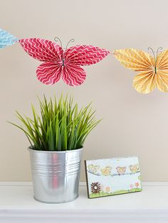 Folded Butterfly Garland by Aly Dosdall 6