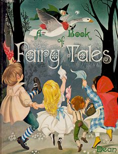 Dean's A Book of Fairy Tales illustrated by Janet and Anne Grahame Johnstone