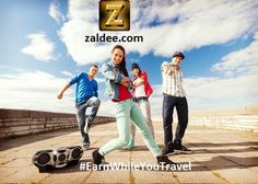 Zaldee App connects travelers with senders. List your Journey and Make money with ZALDEE OR Use ZALDEE App and send your package to anyone anywhere anytime. App. ❤️ Download ZALDEE app.  Zaldee® - earn while you travel®, is the coolest way to earn money from excess baggage space available with you while traveling anywhere. ✈️ #ZALDEE #EarnWhileYouTravel #ShipOnDemand #package #luggage #baggage #journey #courier #ExcessBaggage #shipping #travel #traveling #sharing #BudgetTravel #FreeMoney