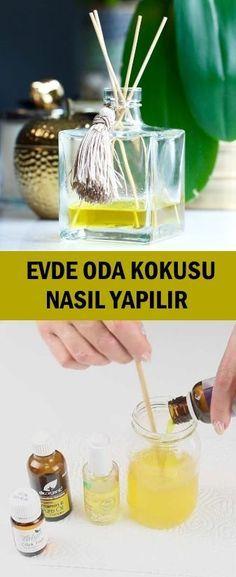 Evde Oda Kokusu Nasıl Yapılır? Clean House, Diffuser, Diy And Crafts, Sweet Home, Good Things, Cleaning, Handmade, Home Decor, Karma