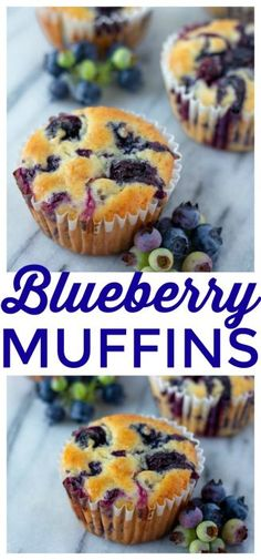 Greek Yogurt Blueberry Muffins These blueberry muffins with fresh blueberries are amazing. Perfect blueberry muffins made from scratch. These Greek Yogurt Blueberry Muffins are so moist and delicious that they make the perfect breakfast or snack! Blueberry Yogurt Muffins, Homemade Blueberry Muffins, Greek Yogurt Muffins, Blueberry Recipes, Blue Berry Muffins, Yogurt Pancakes, Blueberry Bread, Healthy Muffin Recipes, Yogurt Recipes