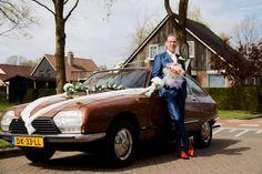 Bridal car: my dad' oldtimer Citroën GS Pallas
