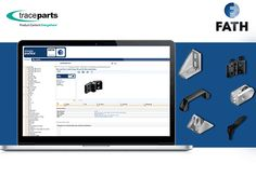 The 3D catalog from FATH is now available from the TraceParts CAD platform. Over 540 FATH product groups are now available with 2D and 3D files on the TracePartsOnline.net platform