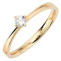 Damen-Ring 1 Diamant-Brillant 14 Karat (585) Gelbgold 0.15 ct. 56 (17.8) Dreambase, http://www.amazon.de/dp/B00AEESI6A/ref=cm_sw_r_pi_dp_ikditb1HZYNM9