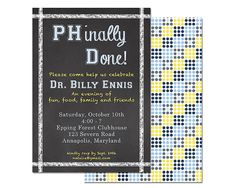 PhD Invitation PHinally Done Doctoral Graduate by dgcustomdesigns