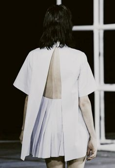thefashiondontlivewithoutvogue:  Edie Campbell - Alexander Wang Spring/Summer 2014 (Runway)