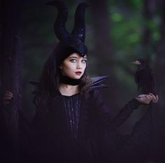 http://amadealzon.com/2014/10/156/ | Maleficent Halloween,  disney -  #costume