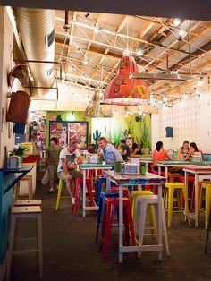 El Loco in Sydney, Australia - in loove with the pulled pork sandwich. Yum!!